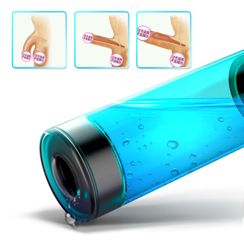 Water Massage Masturbator Cup Strong Telescopic Rotation Male Smart Thrusting Automatic Interaction Time delay exercise For Men