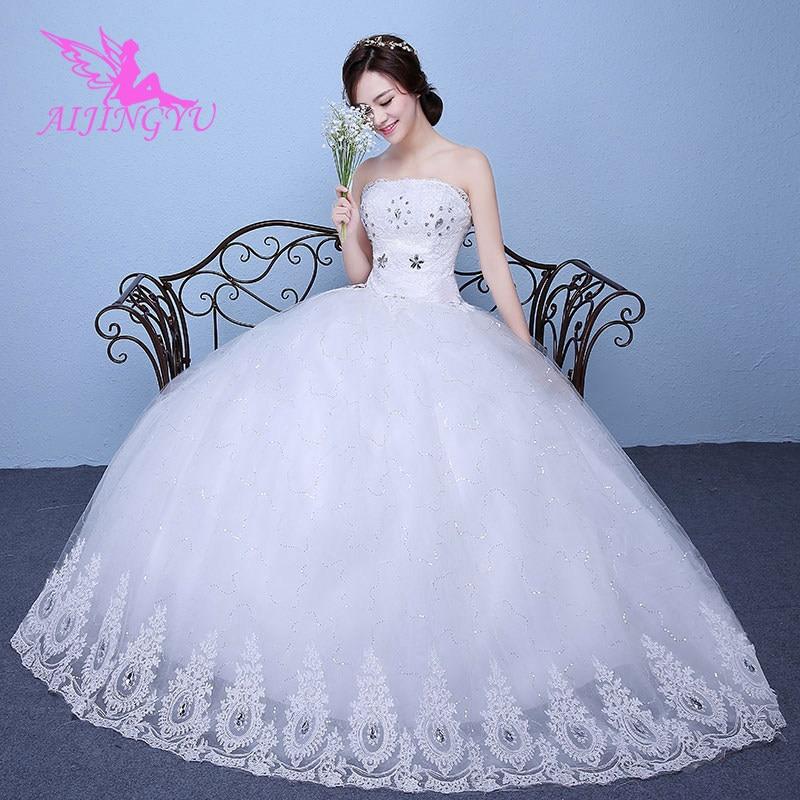 AIJINGYU luxury wedding weeding dress formal dresses WK837