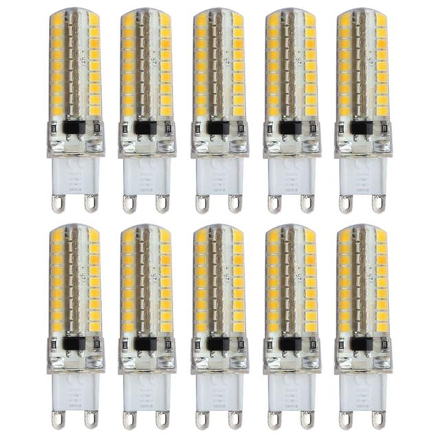 10X G9 8 W Conduziu 2835SMD Cápsula Lâmpada Lâmpadas Luz Bulbo Substituir Halogênio 200-240 V Cor Principal: Branco quente Potência: G9 8 W Pode Ser Escurecido