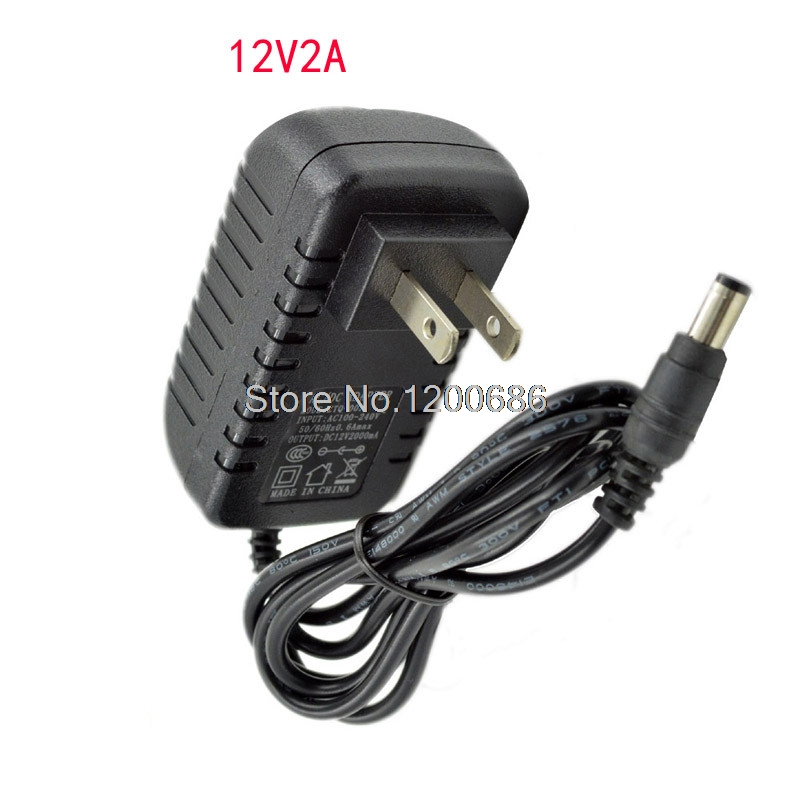 1.2M <font><b>12V</b></font> 2A <font><b>2000mA</b></font> 2.1mm Plug DC Wall <font><b>Power</b></font> <font><b>Adapter</b></font> 5.5*2.1 <font><b>Power</b></font> Supply <font><b>Adapter</b></font> image