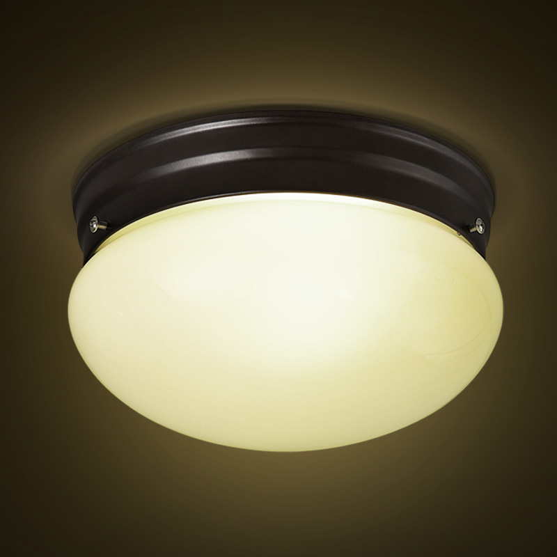 IWHD Two Color Adjustable Light Ceiling Lamp Glass Retro