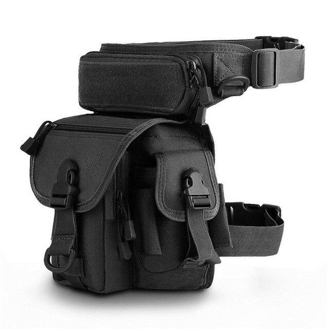 Уличная тактическая набедренная сумка Молл бедра сумка утилита поясная сумка карман езда Регулируемая ножная Сумка для охоты пешего туризма рыбалки