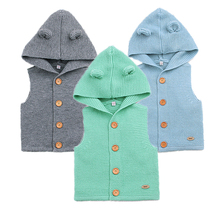 Wool Baby Vest Spring Baby Boy Clothes Cute Baby Girl Sweater 2018 Infant Baby Outwear Autumn Newborn Clothing Kids Costume cheap Outerwear Coats cotton spandex Wool Cotton Unisex Fits true to size take your normal size O-Neck YiErYing Solid baby baby