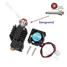 3D Принтер Части Комплексного Heatbreak V6 Боуден hotend Экструдер Hotend Комплект 1.75 мм междугородной Подачи V6 Горячий Конец комплект