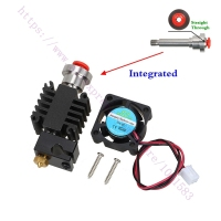 3D Printer Parts Integrated Heatbreak V6 Hotend Bowden Extruder Hotend Kit 1 75mm Long Distance Feed