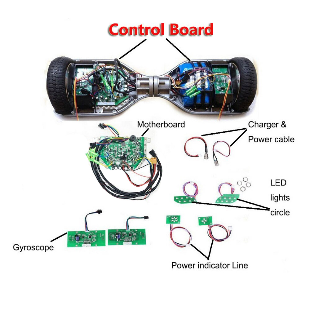 Hoverboard Motherboard Mainboard Control Circuit Board Taotao PCB for 6.5/8/10 2 Wheel Self Balance Electric Scooter SkateboardHoverboard Motherboard Mainboard Control Circuit Board Taotao PCB for 6.5/8/10 2 Wheel Self Balance Electric Scooter Skateboard