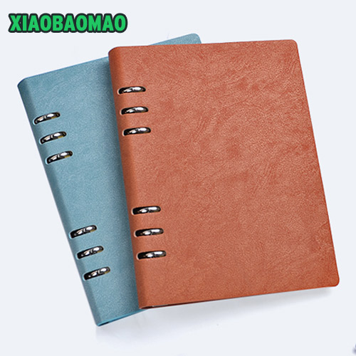 Dokibook notebook A5 imitation loose-leaf notepad Time Planner Series Gold silver Diary Memo Travel Journal business classics high quality pu cover a5 notebook journal buckle loose leaf planner diary business buckle notebook business office school gift