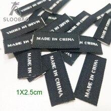 cb36a23a8 صنع في الصين المنشأ التسمية حذاء الأمتعة حقيبة هدية وشاح و التعادل القماش  المنسوجة التسمية Stickable دعم التخصيص في الأسهم