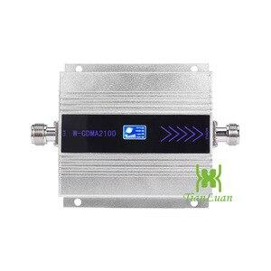 Image 2 - TianLuan Mini W CDMA 2100Mhz Mobile Ripetitore Del Segnale Del Telefono WCDMA 3G Ripetitore di Segnale Amplificatore + Frusta/Yagi Antenna con 15m Cavo