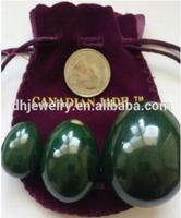 Direct selling 10 eggs, three eggs nephrite + three roses stone + aventurine eggs + 1 piece of obsidian