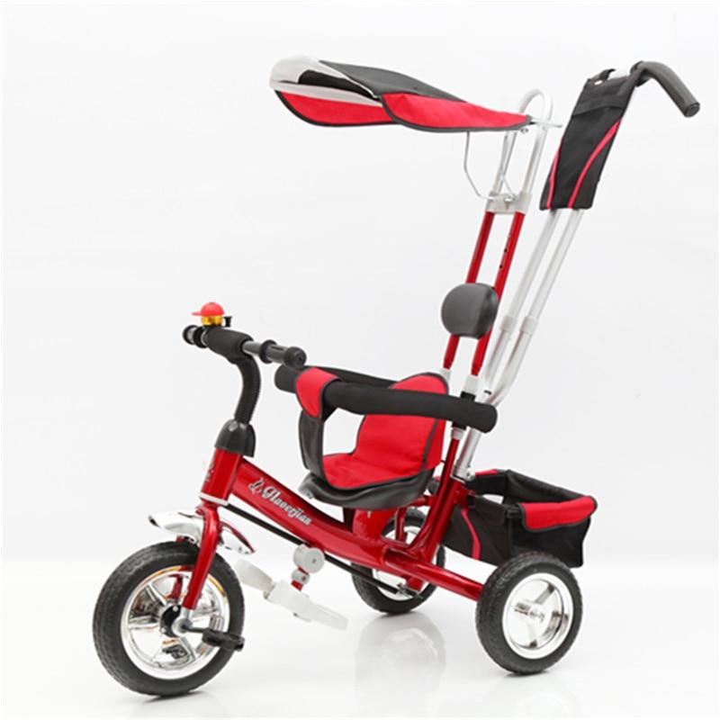 все цены на Ultifunctional children's tricycle baby bicycle rotating seat 1-3-5 year old kids bike онлайн