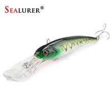 30g 16.5cm Minnow Fishing Lures Japan Deepswim Saltwater Hard Bait 3D Eyes Plastic Crank Bait Swimbait Floating Wobbler