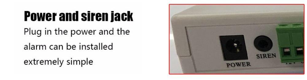 sistemas de alarme segurança em casa sinal