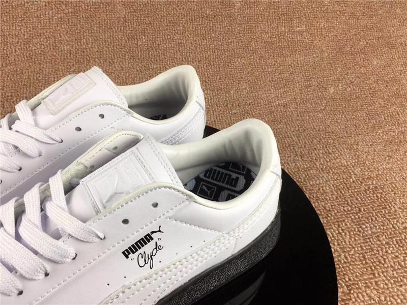 puma shoes PUMA X NATUREL Clyde Moon Space Fantasy Black and White ... 05a50da1e
