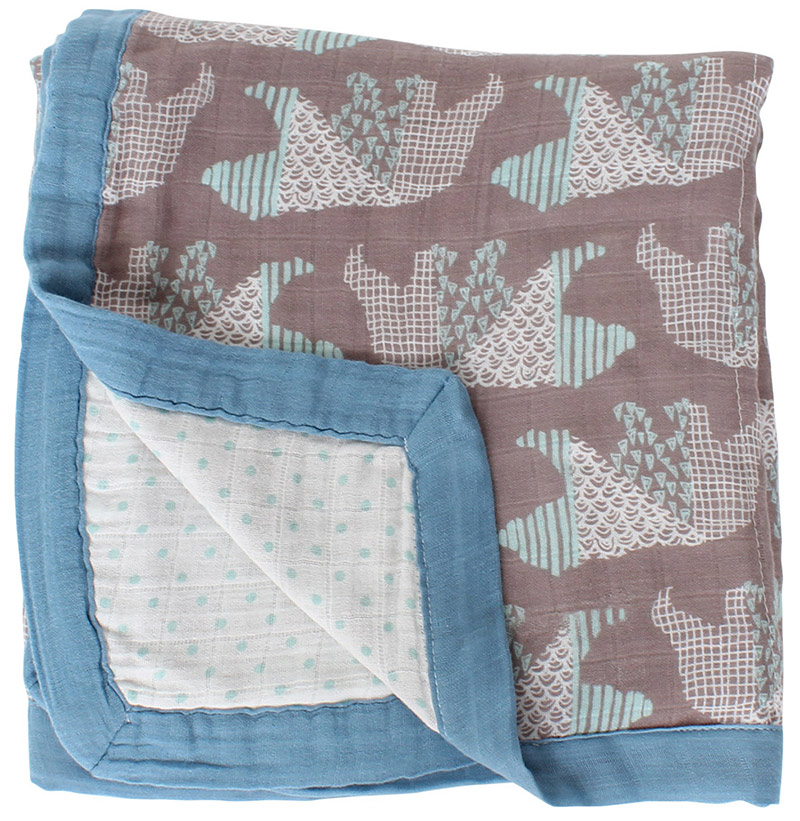 active four layer bamboo baby muslin blanket Muslin Tree <font><b>swaddle</b></font> better than Aden Anais Baby/bamboo Blanket Infant Wrap