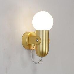 Skandynawski postmodernistyczna minimalistyczny artylerii salon korytarz kinkiet reflektory metaliczny złoty sypialnia łóżko
