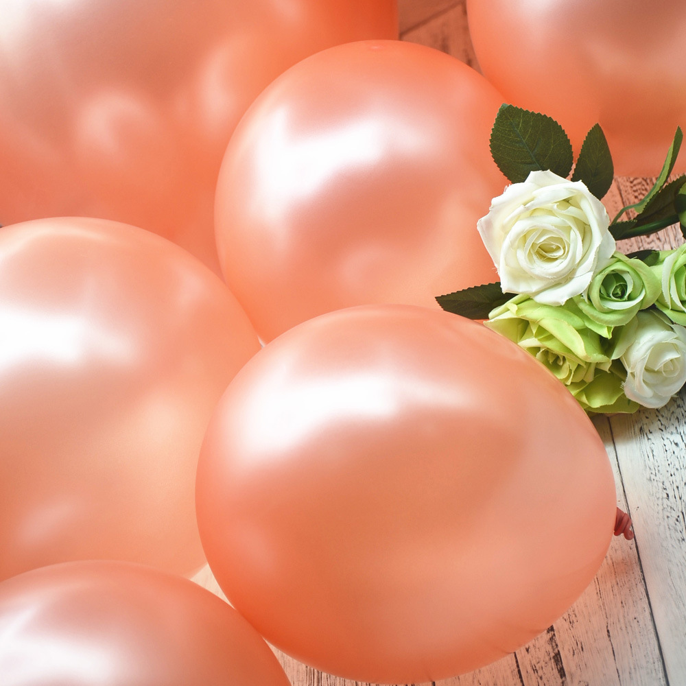 2018 NEW 12inch Rose Gold Balloon Kids Birthday Party Decorations Latex Balloon Wedding Party Supplies helium globos