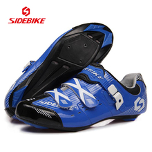 SIDEBIKE Professional Breathable Bicycle Bike Shoes Road Bike Racing Athletic Shoes Men Women Outdoor Sports Cycling
