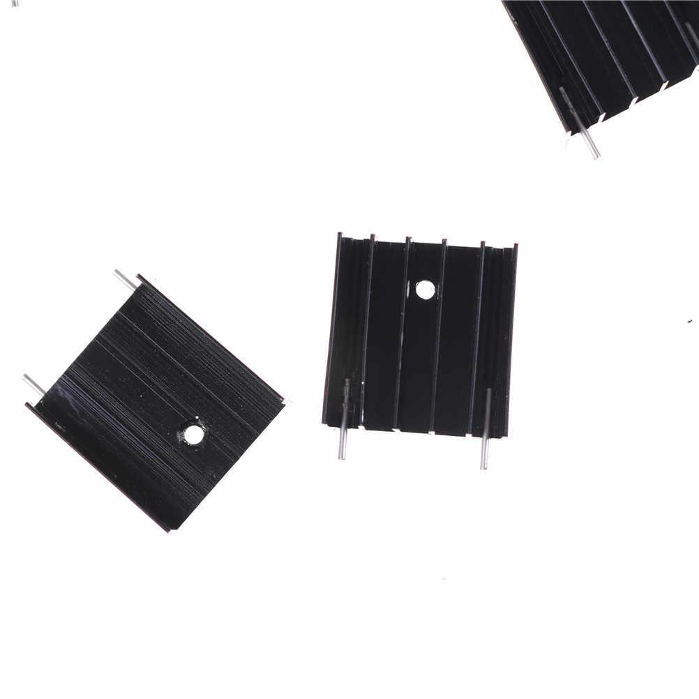 12 adet/grup alüminyum siyah Pi 3 isı emici bakır soğutucu radyatör soğutucu kiti ahududu
