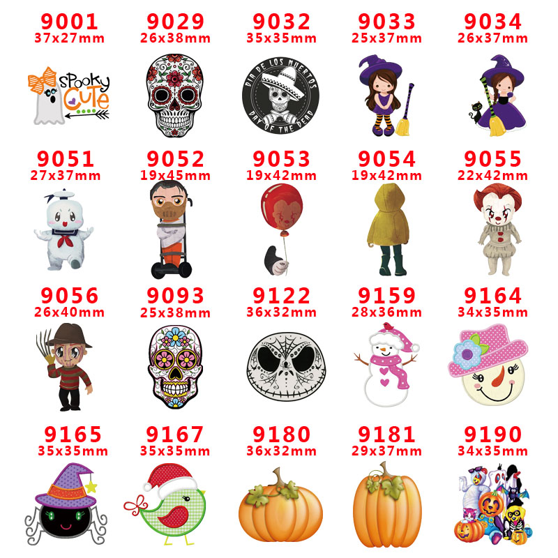Free Shipping 30 Pcs Cartoon Character Planar Resin PR 9001