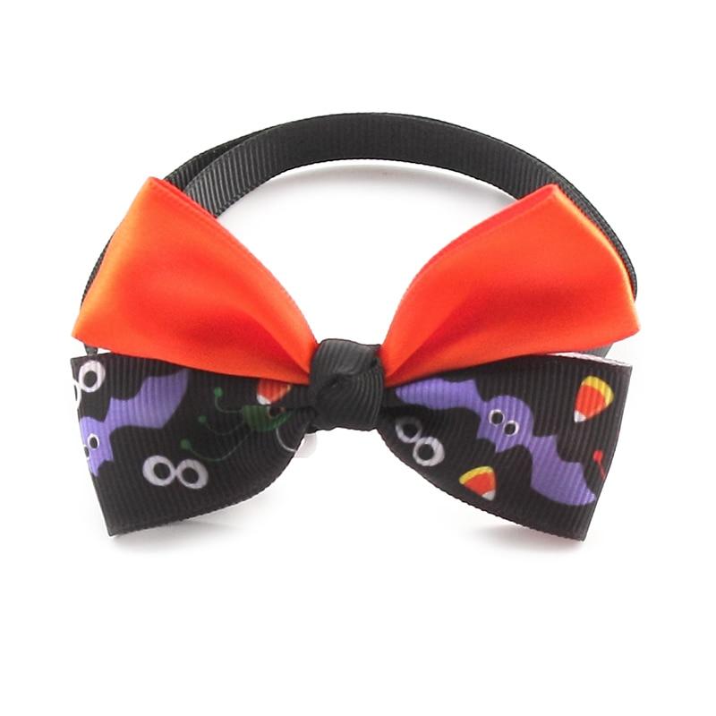 50pcs armi store handmade bat pattern ribbon dog t - Halloween Supply Store