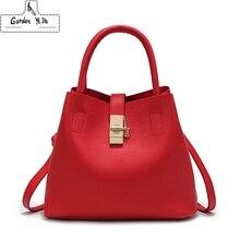 2019 Винтаж женские сумки Известный модный бренд конфеты на плечо Дамы Мужская тотализаторов простой трапециевидная женская сумка на плечо сумка