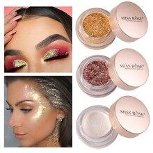 Mermaid Glitter Eye Shadow Powder Colorful Sparkling Eyeshadow Bling Facial Contour High Gloss Cream Diamond Shimmer Highlighter
