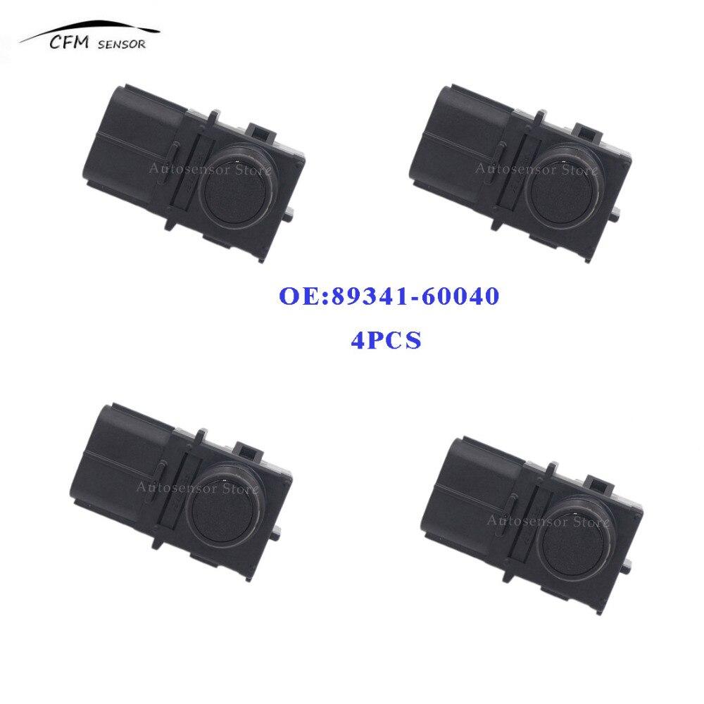 4PCS New Brand 89341 60040 PDC Parking Sensor Bumper Reverse Assist For Toyota 188400 2560