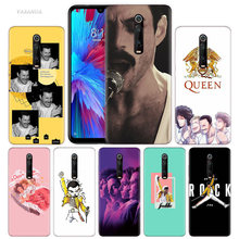 Freddie Mercury Queen Band Case for Xiaomi Redmi Note 7 7S K20 Y3 GO S2 6 6A 7A 5 Pro MI Play 9T A1 A2 8 Lite Poco F1 Phone Bags(China)