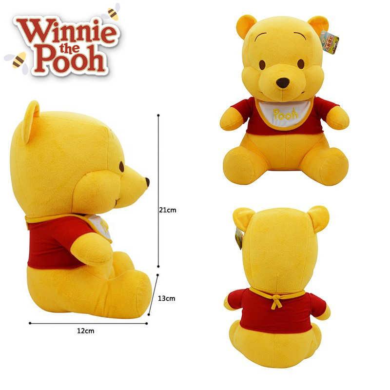 38e51dd76e68 ... Disney Plush Toys 21cm Baby Winnie The Pooh Mickey Mouse Minnie Stuffed  Doll Boys Girls Birthday ...