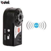 EDAL Wifi Mini Câmera Q7 480 P DV DVR Cam Sem Fio Marca Novo Mini Filmadora Gravador de Vídeo de Visão Noturna Infravermelha