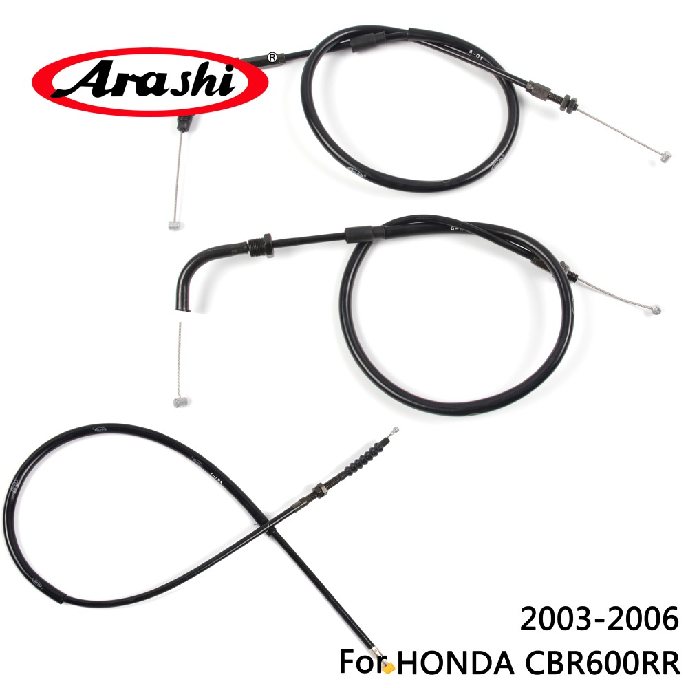 Arashi Motorcycle Throttle Line Clutch Cable Steel Wire