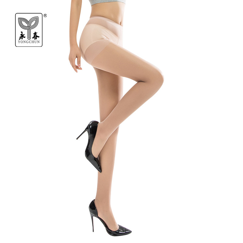YONGCHUN 3 pairs small mesh pantyhose nylon sexy skinny long stockings hosiery seamless design fashion summer tights 6244
