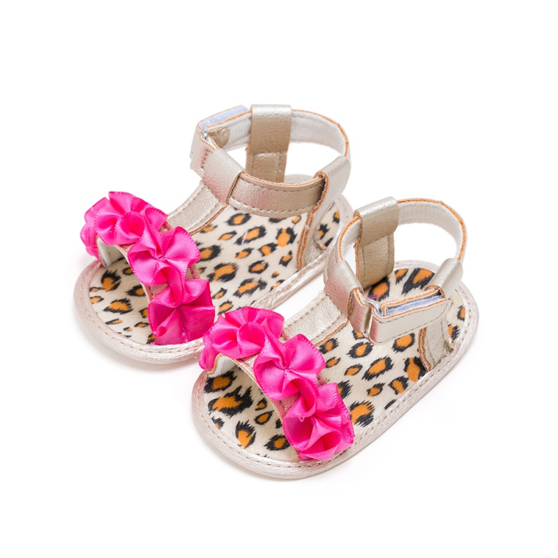 New Kids Summer Girls Fashion Splice Color Breathable Flower Cute Anti-skid Casual Baby Cack Sandal
