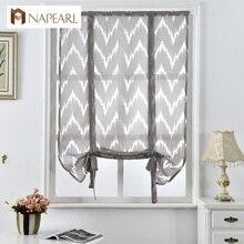 Cocina corto cortinas cortinas cortinas persianas romanas cortinas de rayas jacquard textiles para el hogar decorativo cortina de café