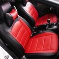 (Frontal + Posterior) Cuero del asiento de coche Especial cubre Para Dacia Logan Sandero Plumero coche accesorios styling car covers