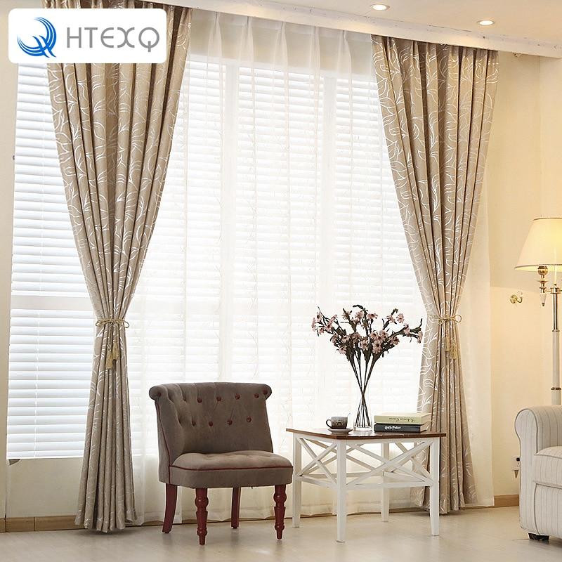 New Home Valances Leaves Blackout Curtain Door Window Curtain Drape Panel Scarf Curtain For