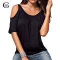 Lace Girl Women Blouses Shirts Summer 2017 New Sexy Short Sleeve Off Shoulder Tops Candy Color Casual O Neck Shirts Plus Size