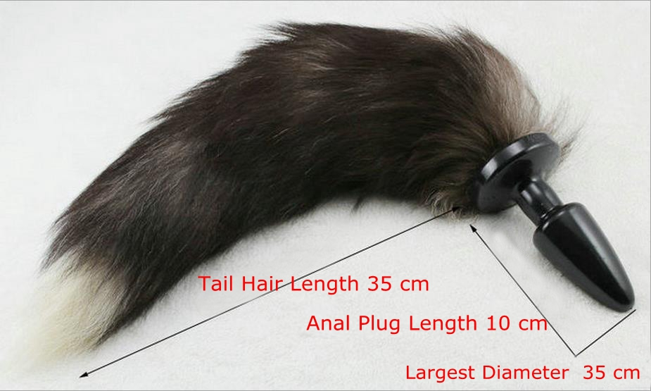 Anal Sex Toys Tails - Adult Sex Toy Fox Tail Anus Plug, Butt Plug Anal Sex Toy For Women Adult