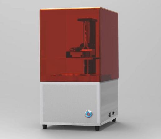 Light cured DLP LCD desktop high precision 3D printer 2K resolution resin jewelry wax casting machine