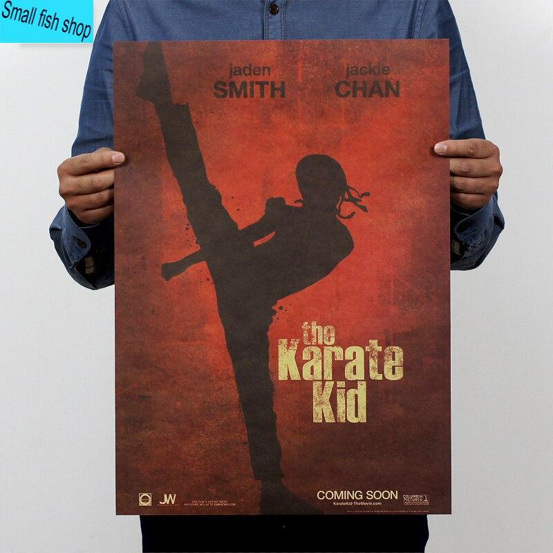 Карате Кид Джеки Чан классика домашнего интерьера крафт-о фильме рисунок основной стены наклейки