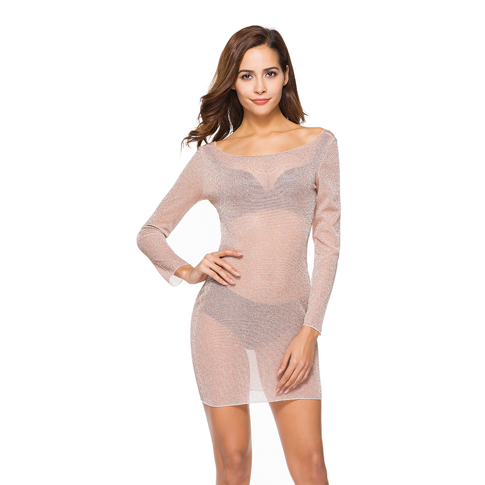 Glitter <font><b>Dress</b></font> Elegant Women <font><b>Sexy</b></font> <font><b>Dresses</b></font> Party <font><b>Night</b></font> <font><b>Club</b></font> <font><b>Dress</b></font> 2020 Women <font><b>Transparent</b></font> Top Summer <font><b>Dresses</b></font> Woman Party <font><b>Night</b></font> Buty image