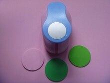 """Gratis Verzending 2 """"(5 cm) Cirkel EVA foam ponsen papier puncher voor wenskaart handgemaakte DIY scrapbooking craft punch machine"""