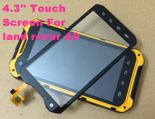 "High quality Test OK 4.3"" Touch Screen Digitizer Glass For Land Rover A9 (CPU:MTK6589) with good working"