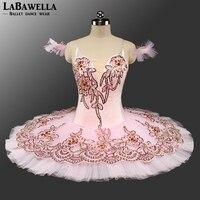 Professional Ballet Tutu Sugar Plum Fairy Child Classical Ballet Tutus Pink Nutcracker Performance Tutu Ballet CostumeBT9135