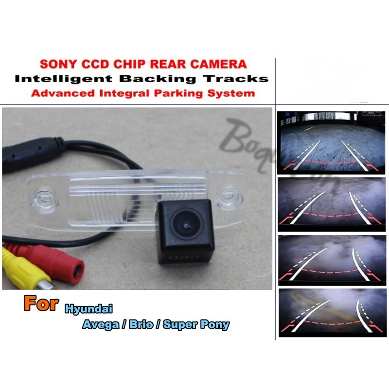 Intelligent Car Parking Camera / For Hyundai Avega / Brio / Super Pony with Tracks Modul ...