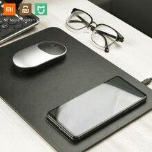Chính Hãng Xiaomi Miiiw Tề Sạc Nhanh Không Dây Da PU Lót Chuột Dành Cho iPhone Samsung Xiaomi Huawei Sạc Nhanh