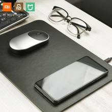 Original Xiaomi MIIIW Qi Wireless Fast Charger PU Leather Mouse Pad For iPhone Samsung Xiaomi Huawei Quick Charge