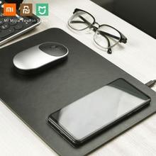 Originele Xiaomi Miiiw Qi Draadloze Fast Charger Pu Mouse Pad Voor Iphone Samsung Xiaomi Huawei Quick Lading