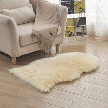 Super Soft Washable Sheepskin Rug Fur Wool Fluffy Carpets 65*102cm Shiny  Wool Carpets Runner
